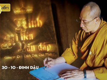Phẩm mạo người xuất gia cao siêu đến cơ nào - Thầy Thích Trúc Thái Minh