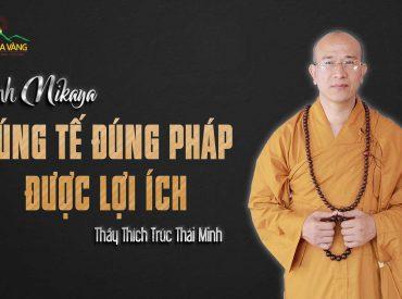 Cúng tế đúng pháp được lợi ích chùa Ba Vàng.