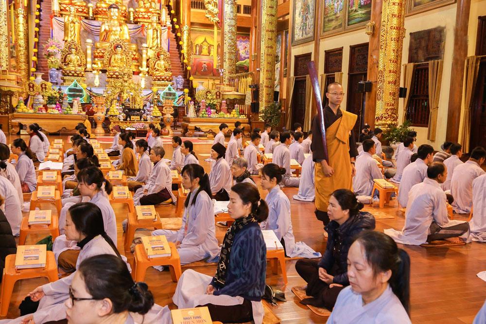 Thời Khóa Ngồi Thiền Chùa Ba Vàng