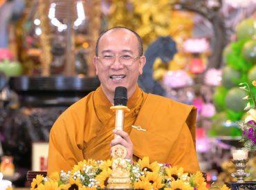Thầy trụ trì Thích Trúc Thái Minh.