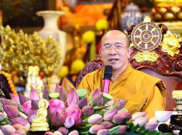 Thầy Thích Trúc Thái Minh giảng giải về cai trò của giáo dục