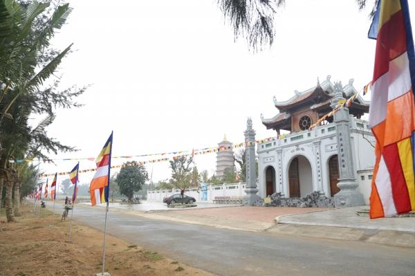 Chùa Diên Phúc tại xã Quảng Thái, huyện Quảng Xương, tỉnh Thanh Hóa.