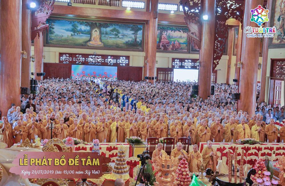 Đại lễ Phát Bồ Đề Tâm Nguyện hàng năm tại chùa Ba Vàng