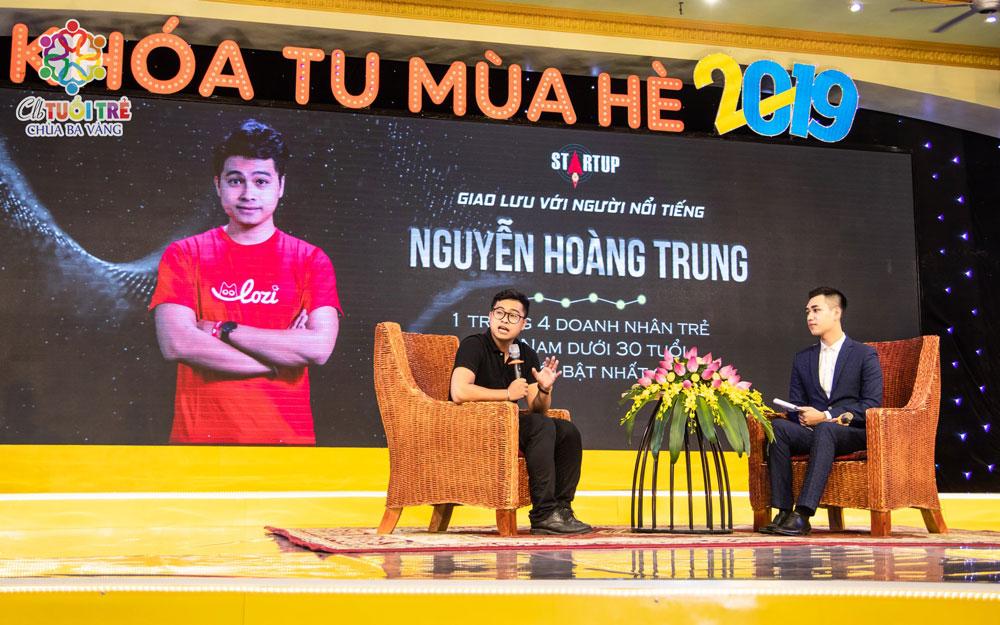 CEO Nguyễn Hoàng Trung gửi lời đến các bạn trẻ