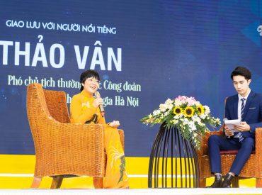 MC Thảo Vân chia sẻ câu chuyện của bản thân