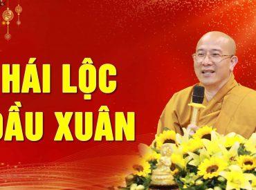 Hái lộc đầu xuân năm mới - Thầy Thích Trúc Thái Minh Chùa Ba Vàng