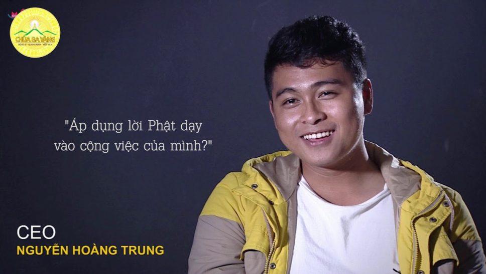 CEO Lozi Nguyễn Hoàng Trung Lần Đầu Đến Với Khóa Tu Mùa Hè Chùa Ba Vàng