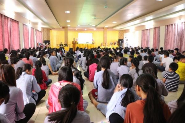 Lễ ra mắt Câu lạc bộ Khóa Tu Mùa Hè tỉnh Lai Châu.