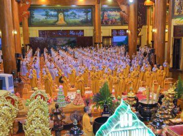 Thời khóa sám hối tại chùa Ba Vàng