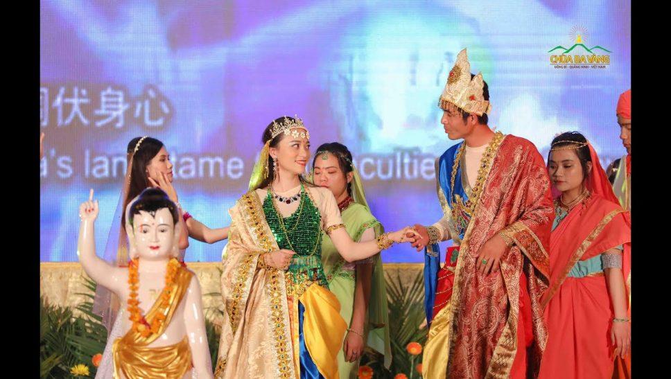 Vở nhạc kịch hoa ưu đàm đêm văn nghệ kính mừng phật đản chùa ba vàng 2019