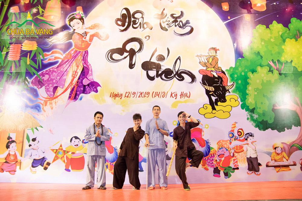 Nhân vật thầy trò đường Tăng sẽ xuất hiện trong đêm chương trình Trung thu