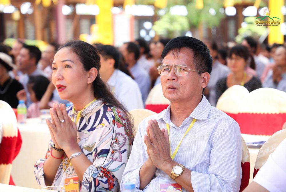 Ông Ngô Văn Sơn - Phó trưởng ban tôn giáo tỉnh Quảng Ninh tham dự đại lễ