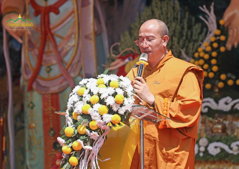 Đại Đức Thích Trúc Thái Minh - Trụ trì chùa Ba Vàng