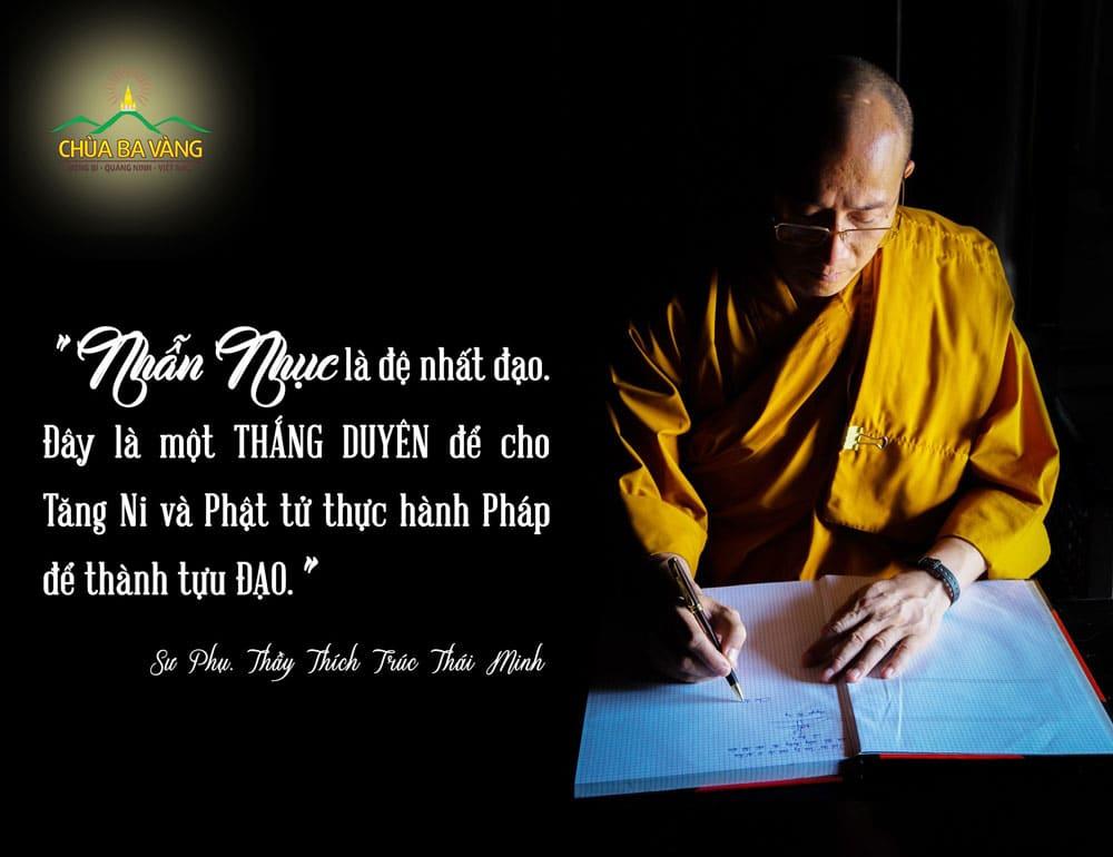Lời dạy của Sư Phụ Thích Trúc Thái Minh đối với toàn thể chư Tăng Ni