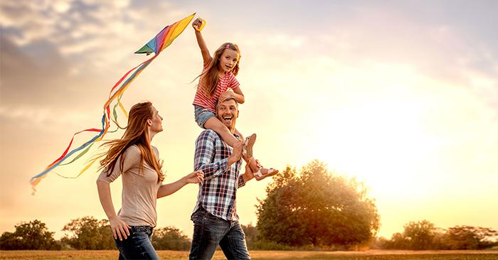 Một gia đình hạnh phúc theo góc nhìn của xã hội