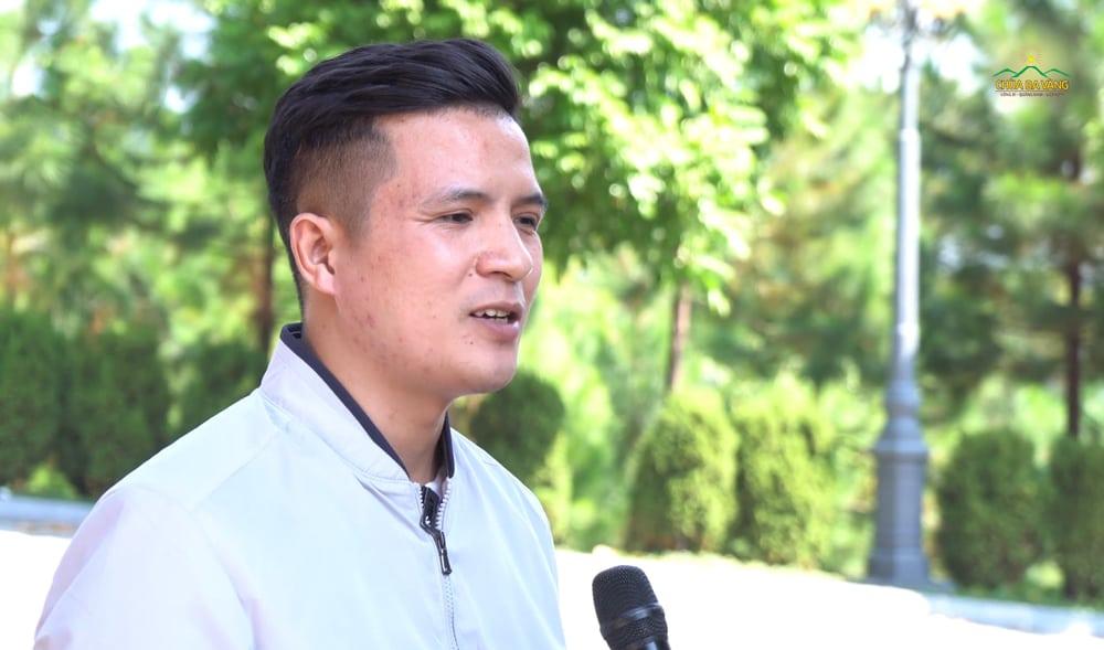Thầy giáo Nguyễn Văn Dương - Hiệu trưởng Trường Nguyễn Công Hoan - Hưng Yên