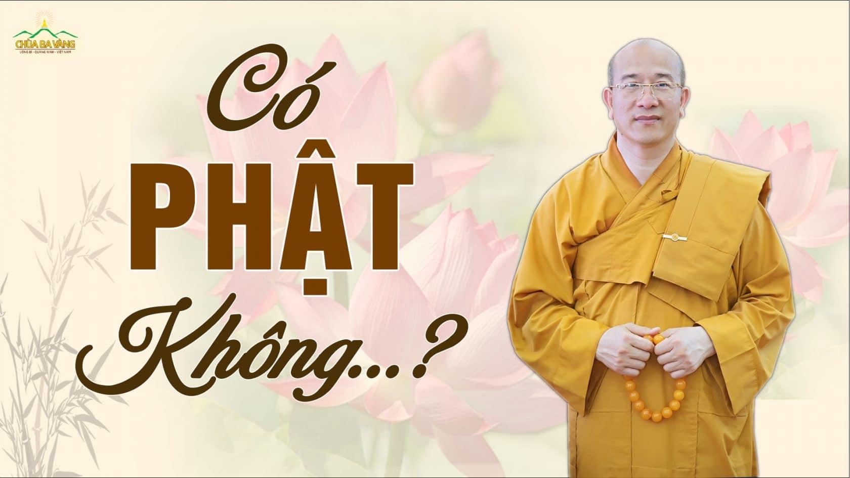 Có Phật không? Kinh mi tiên vấn đáp câu 49