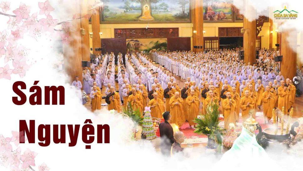 Sám nguyện - Thời khóa sám chuyển hóa chùa Ba Vàng
