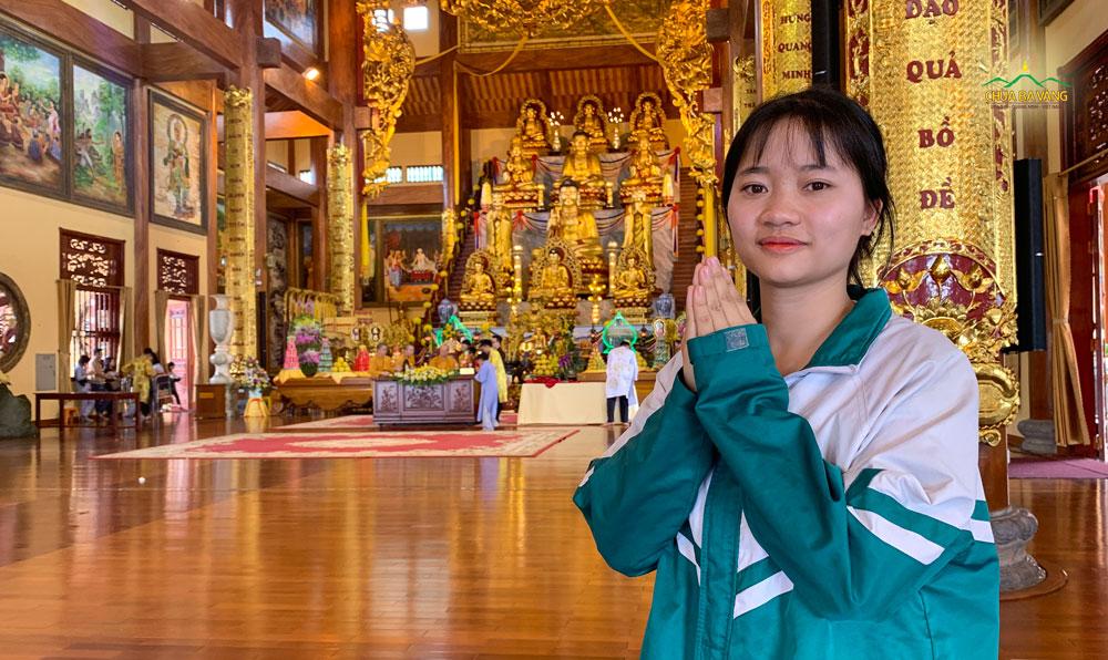 Bạn Nguyễn Thị Kim Chi - Phó bí thư đoàn trường