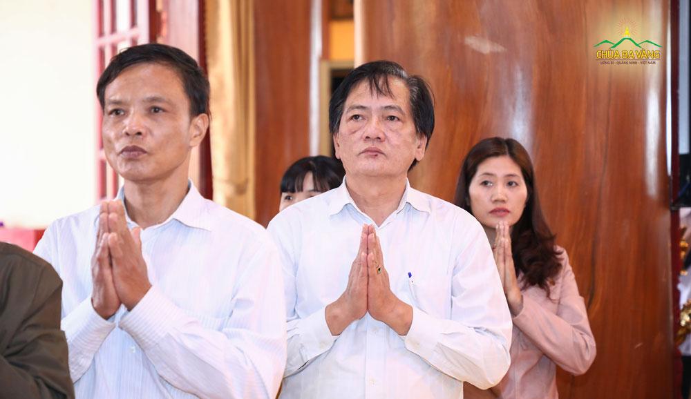 Ông Nguyễn Văn Cuông - Hiệu trưởng trường THPT Phạm Văn Nghị