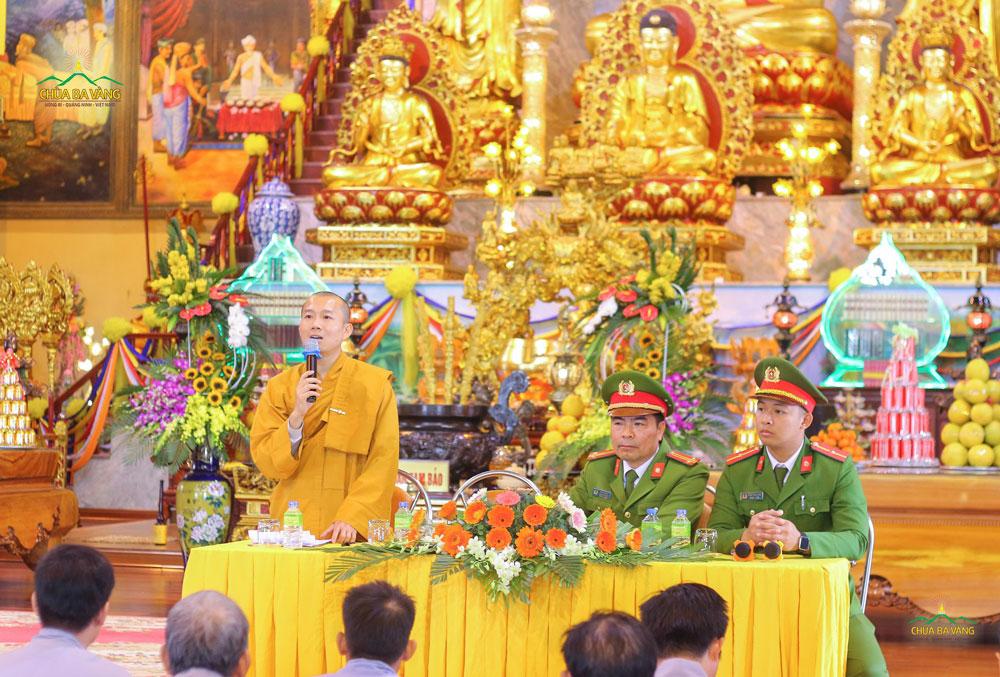 Đại đức Thích Trúc Bảo Chung chia sẻ câu chuyện Phật dạy cho Vua Ba Tư Nặc về bốn điều không thể xem thường