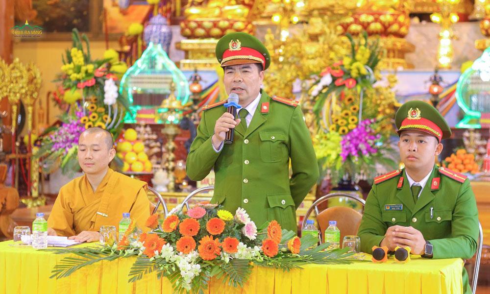 Mong rằng những kỹ năng về phòng cháy chữa cháy mà Trung tá Đỗ Văn Huy chia sẻ sẽ đem lại lợi ích cho Phật tử