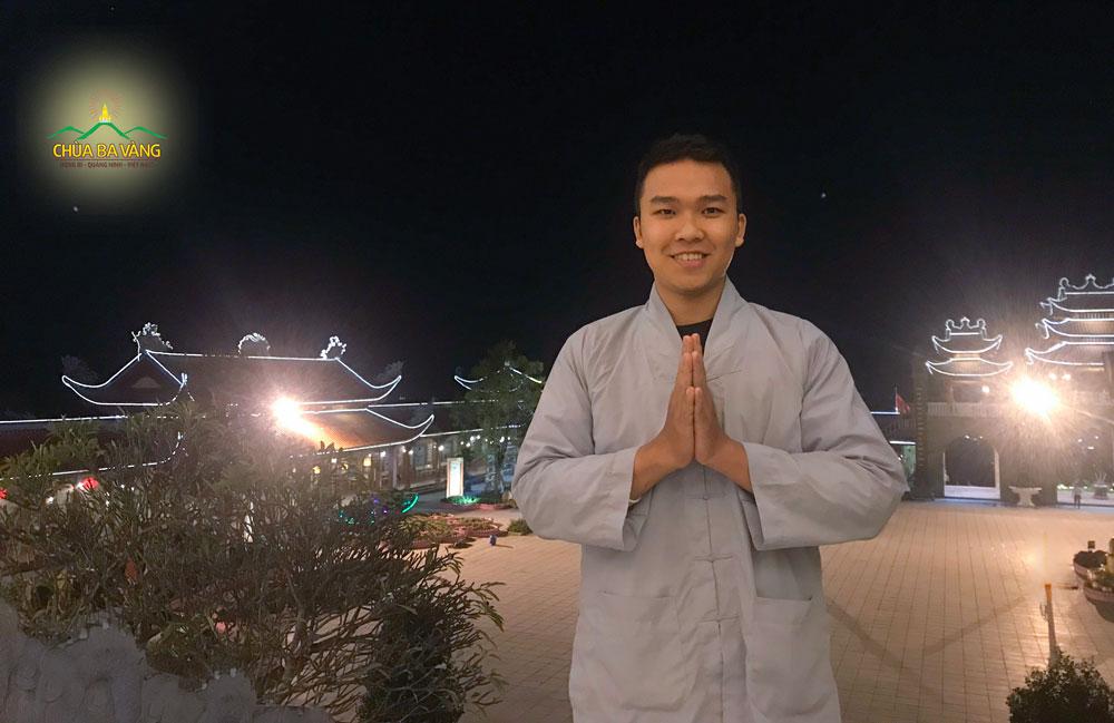 Phật tử Nguyễn Duy Đức chia sẻ