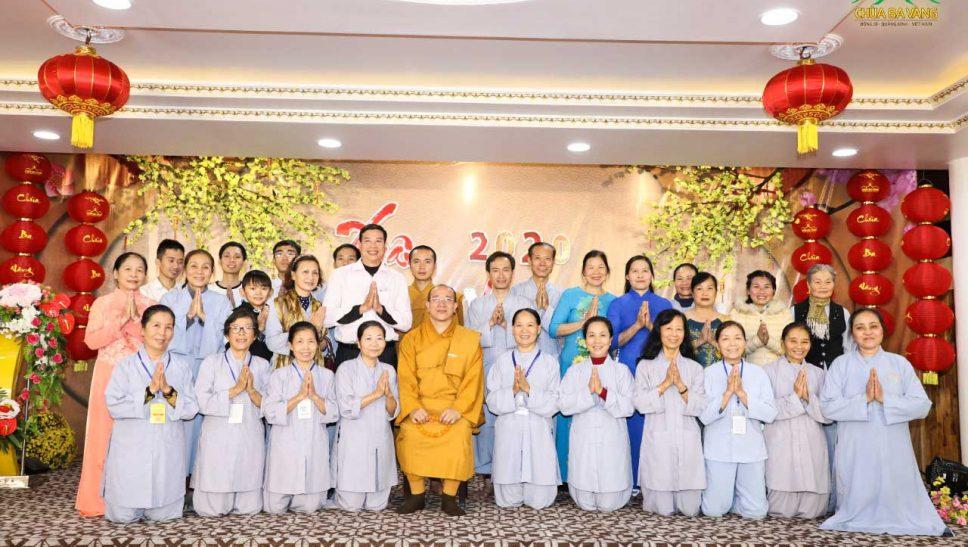 Xuân an vui - Chương trình họp mặt, giao lưu với cán bộ công nhân viên làm việc tại chùa Ba Vàng
