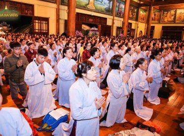 Bồi đắp tâm biết ơn và làm mới mình trong thời khóa Sám hối – Tạ Pháp đêm giao thừa tại chùa Ba Vàng