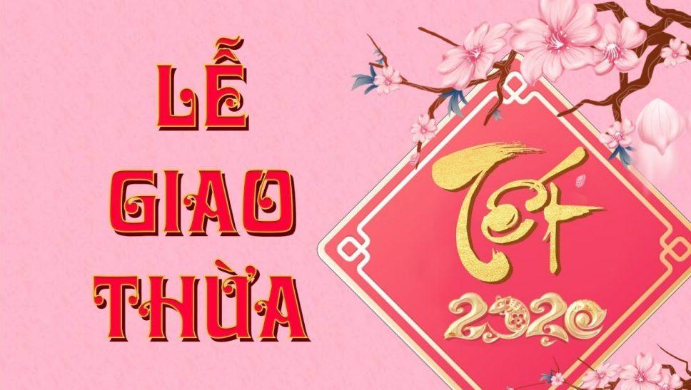 Lễ Giao Thừa | Chùa Ba Vàng | ngày 01/01 năm Canh Tý