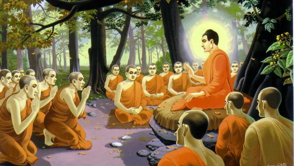 Đức Phật thuyết Pháp