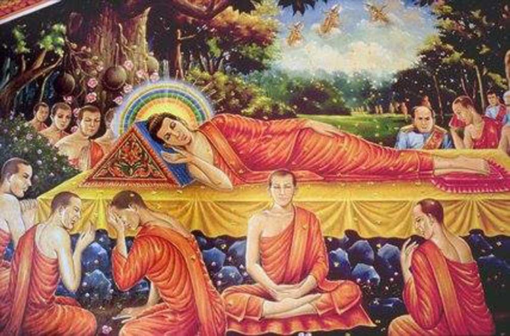 Lời di huấn cuối cùng của Đức Phật trước khi nhập Niết bàn