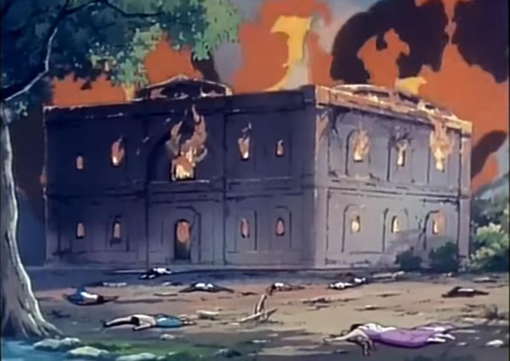 Kinh thành Ca Tỳ La Vệ chìm trong biển lửa và dòng họ Thích Ca bị tiêu vong