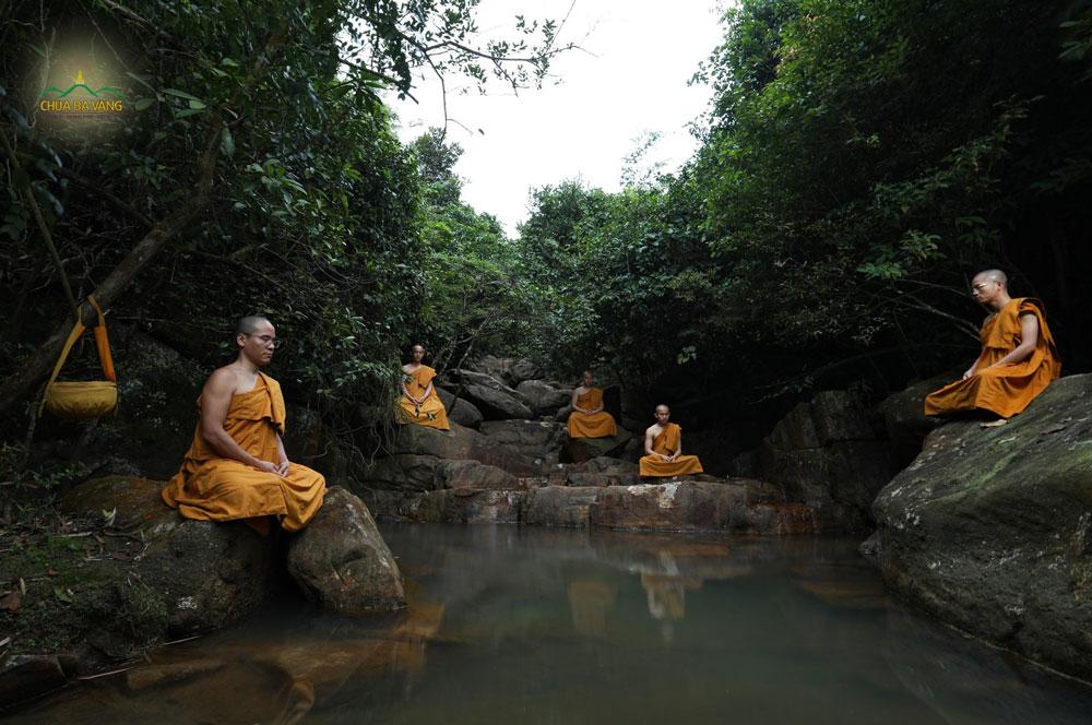 Ngồi thiền giúp cho tâm chúng ta an định và trí tuệ được sáng tỏ