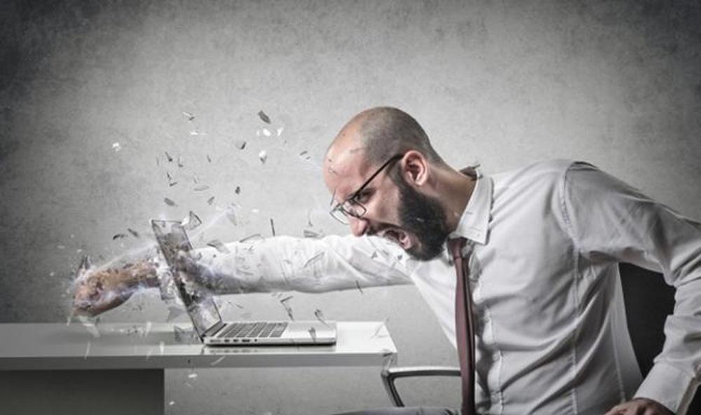 Khi sự phẫn nộ làm chủ tâm thì có thể gây ra những hành động khiến ta phải hối hận
