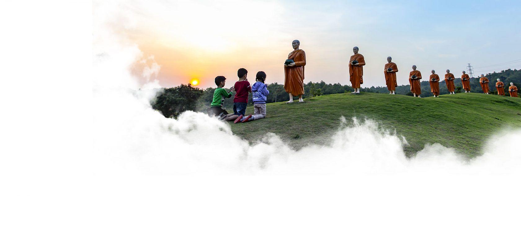 Khất thực chùa Ba Vàng