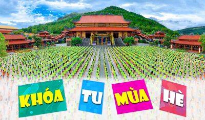Khóa tu mùa hè chùa Ba Vàng