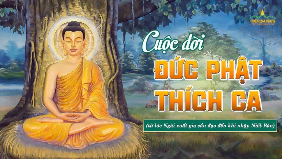 Tái hiện cuộc đời Đức Phật Thích Ca qua 37 bức tranh tại chính điện chùa Ba Vàng