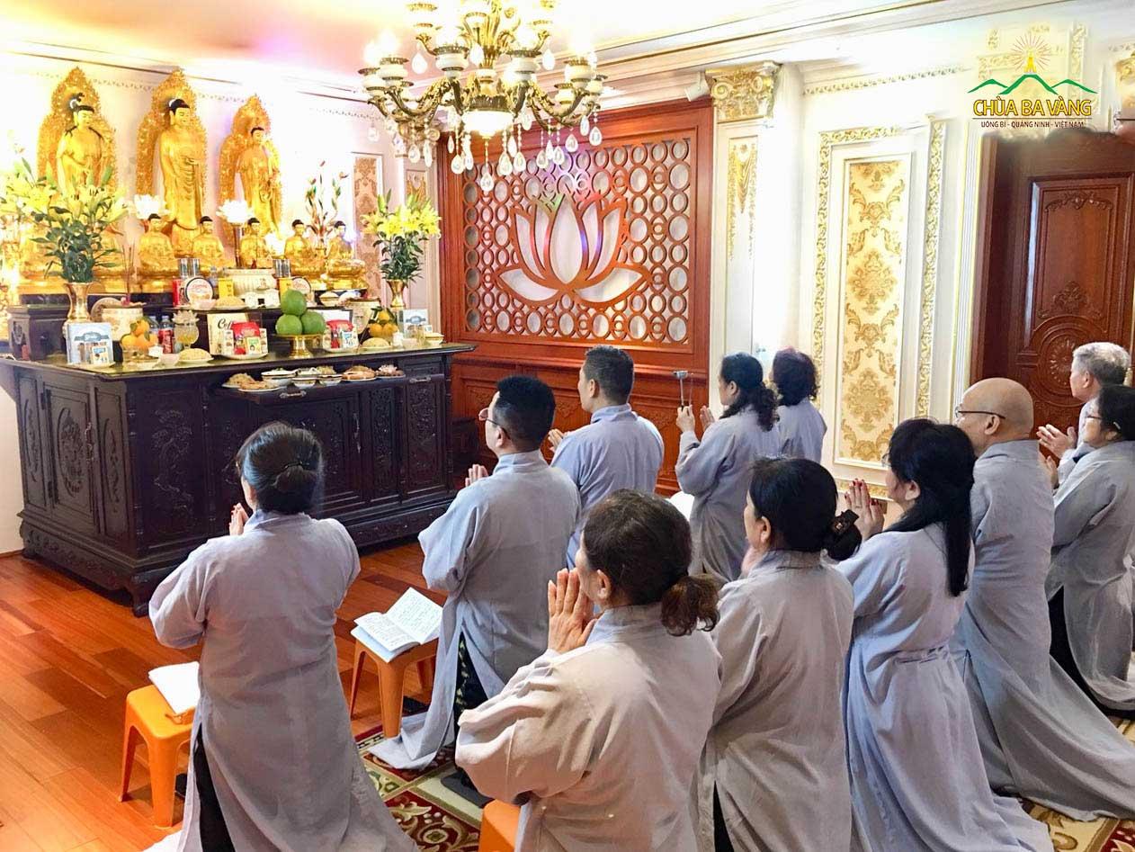 Tư duy nhân quả Phật tử phát nguyện tu tập phòng chống dịch bệnh Covid-19