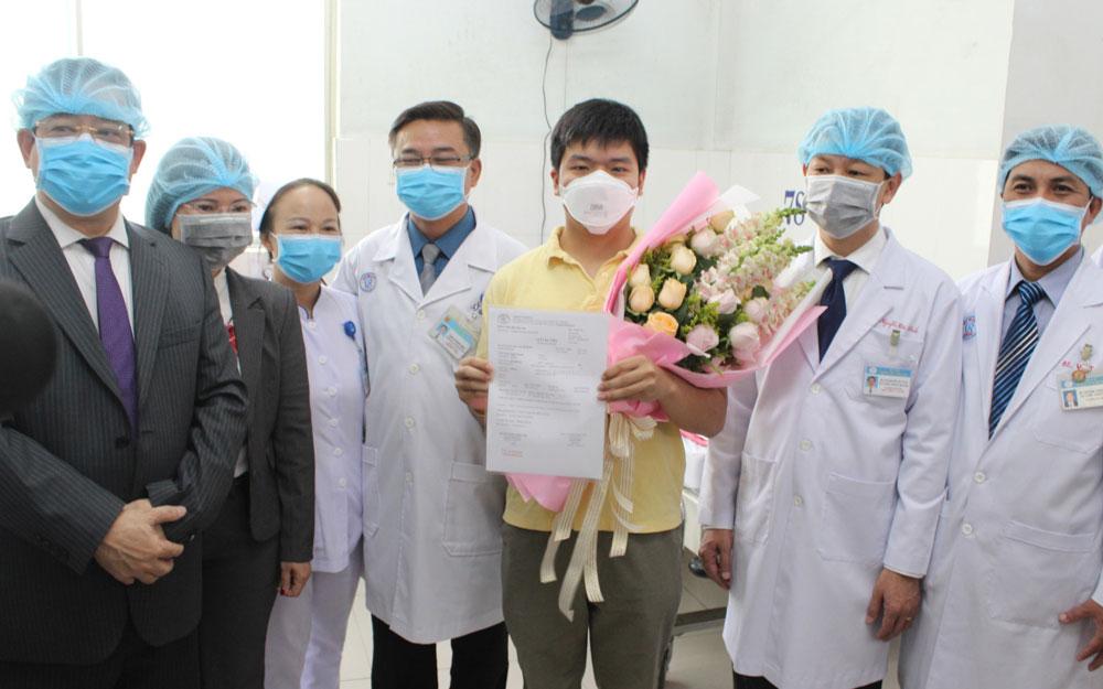 Trường hợp được chữa khỏi bệnh nhiễm virus Corona (Covid-19) tại Việt Nam (nguồn: Internet)
