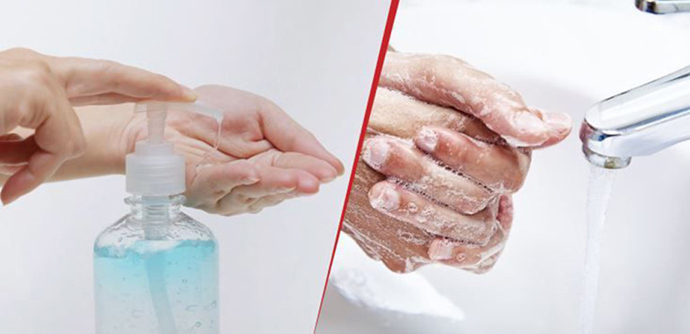 Thường xuyên rửa tay với xà phòng và nước hoặc dung dịch rửa tay sát khuẩn để phòng chống dịch bệnh Covid- 19