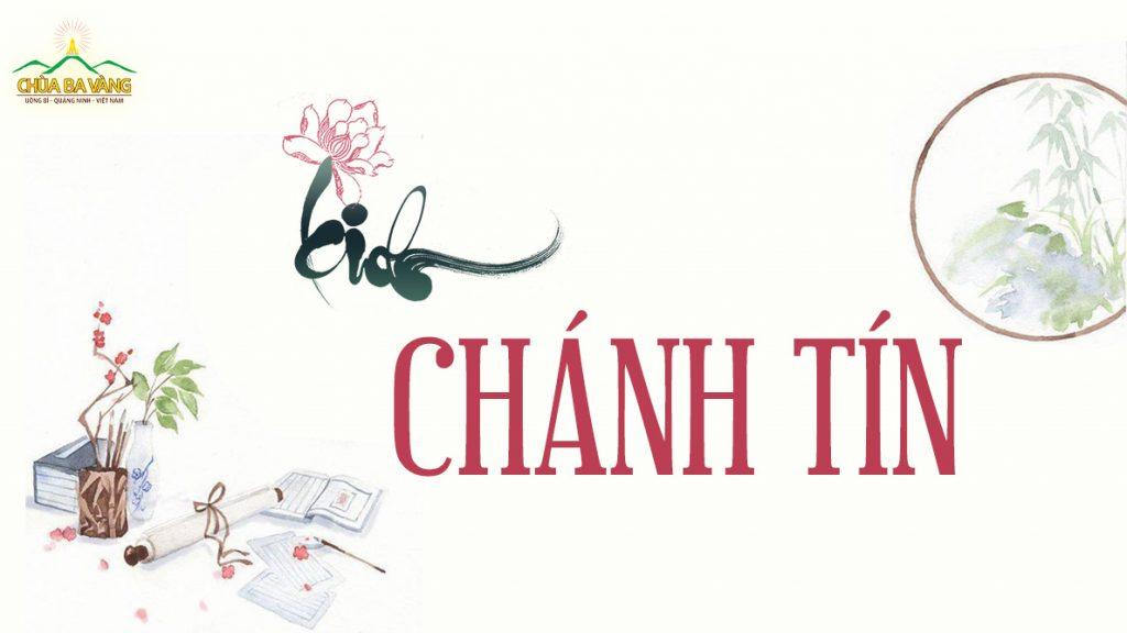 Kinh Chánh Tín