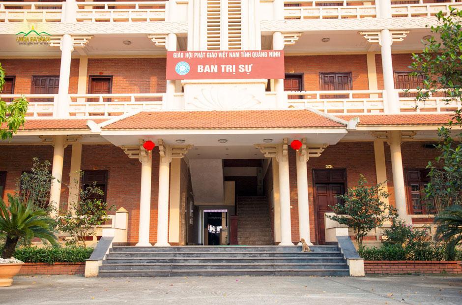 Trụ sở Ban Trị sự Giáo hội Phật giáo Việt Nam tỉnh Quảng Ninh