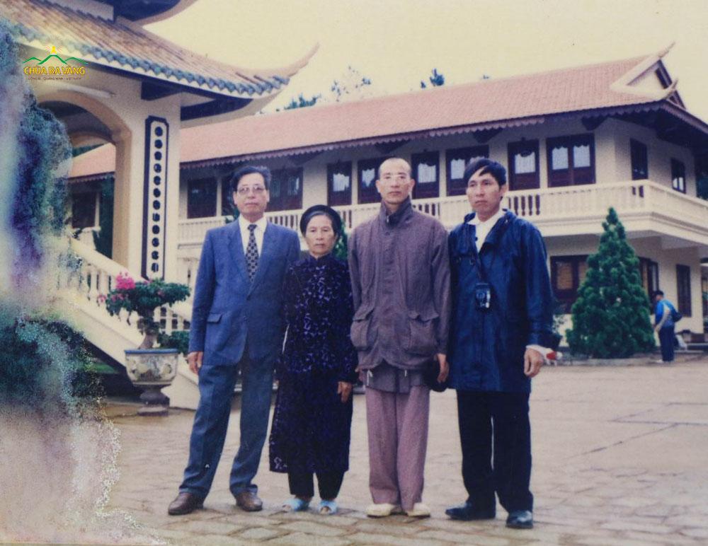 Với ý chí quyết tâm xuất gia cầu đạo, Thầy Thích Trúc Thái Minh đã thuyết phục cha mẹ cho đi xuất gia