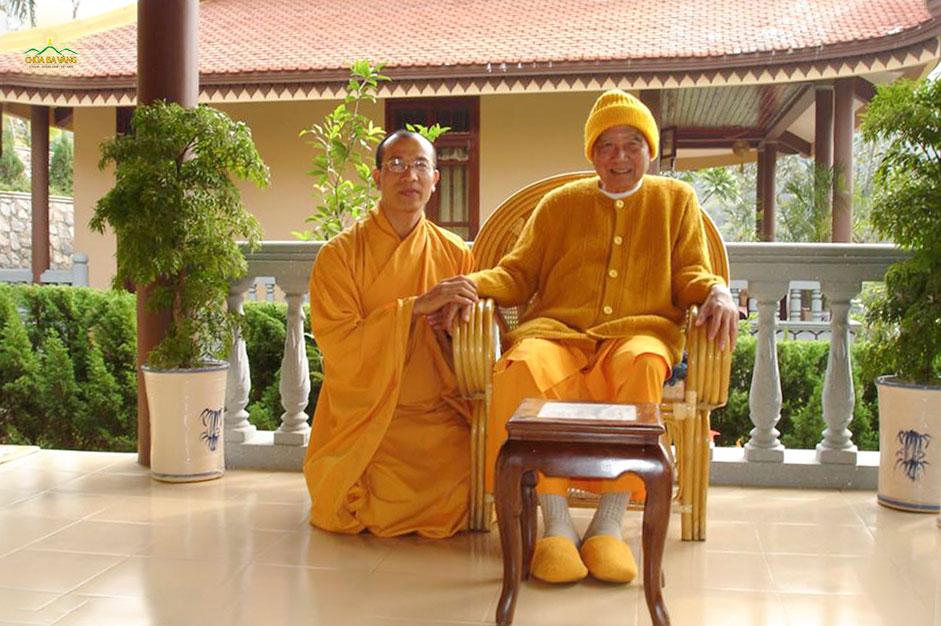 Thầy Thích Trúc Thái Minh xuất gia theo Thiền phái Trúc Lâm Yên Tử