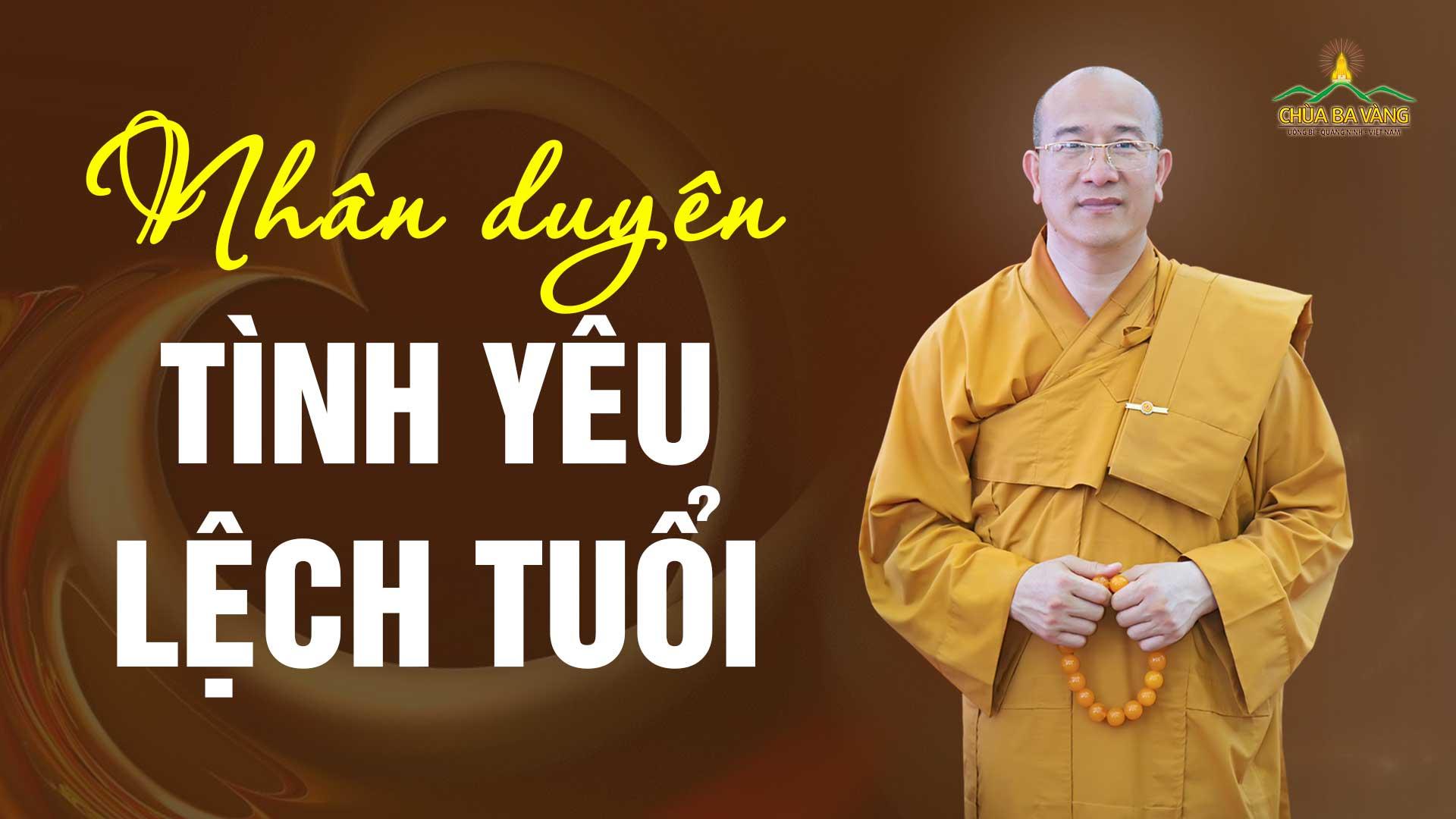 Tình yêu chênh lệch tuổi tác - Lý giải trên góc nhìn của đạo Phật