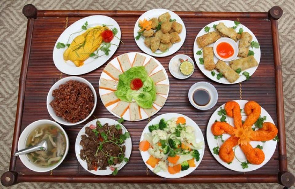 Thường xuyên thay đổi các món ăn chay để đảm bảo sức khỏe