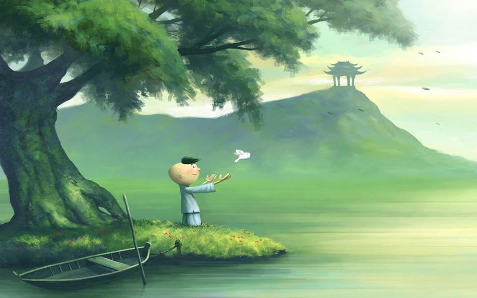 Tâm rất quan trọng, tâm hướng về những điều chân chính thì sẽ được những quả phước lành (ảnh minh họa)