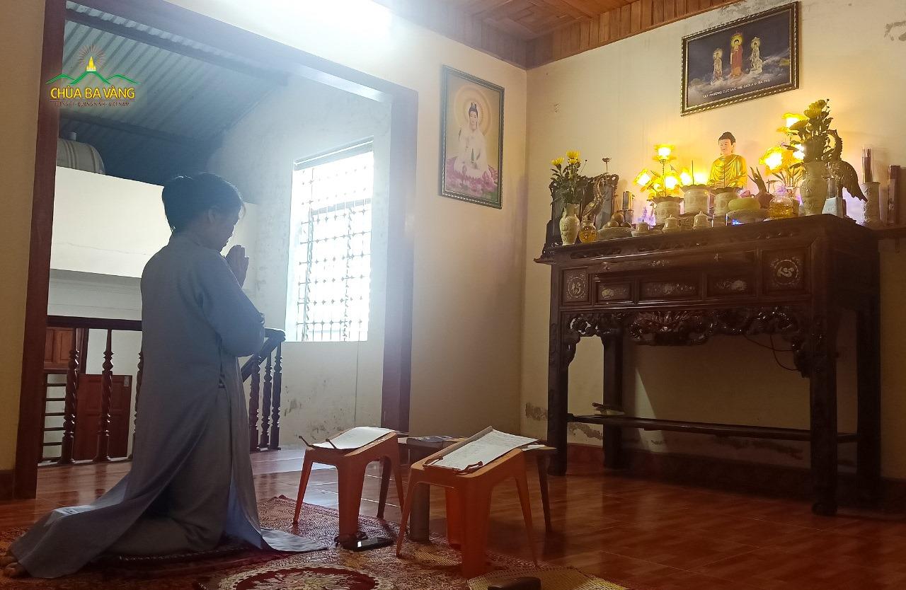 Chân thật sám hối, tu học Phật Pháp để hạn chế và điều phục những tư duy mộng tưởng (ảnh minh họa)
