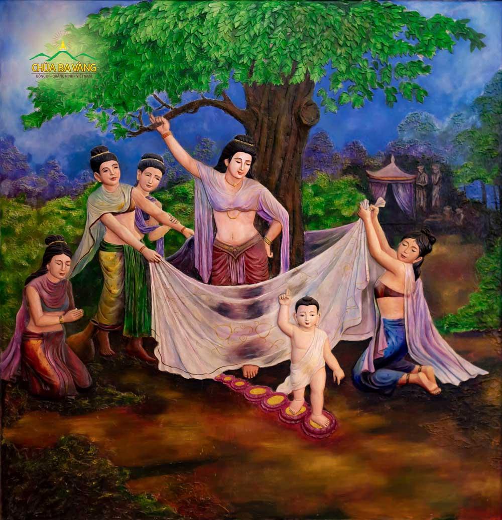 Mỗi bước chân Thái tử (Đức Phật Thích Ca) bước đi đều có các ý nghĩa rất đặc biệt và vô cùng vi diệu